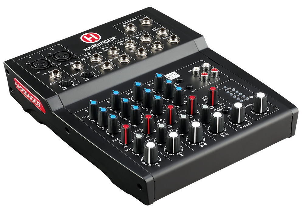 Harbinger L802 8-Channel Compact Mixer