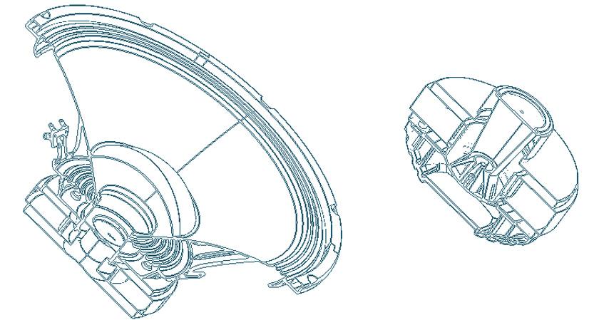 Harbinger VARI 4000 XR technology speakers