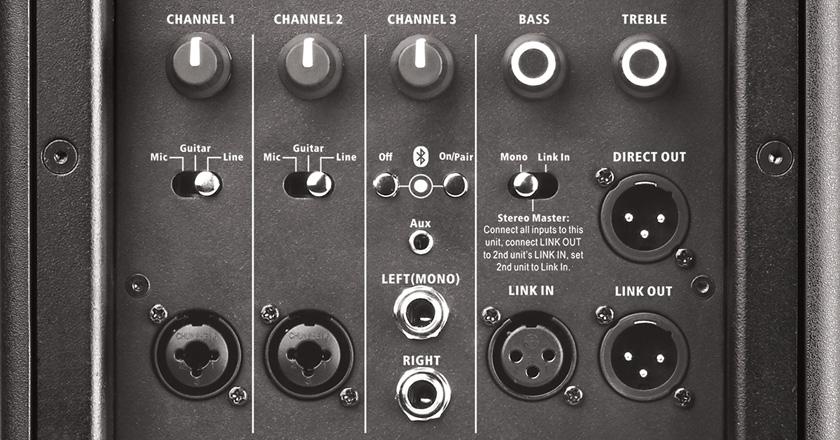 Harbinger VARI 4000 closeup mixer
