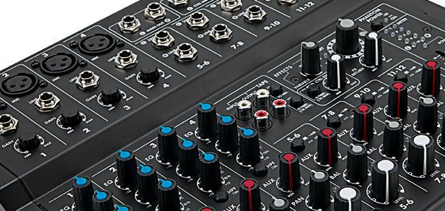 L1202FX 12-Channel Mixer With Effects