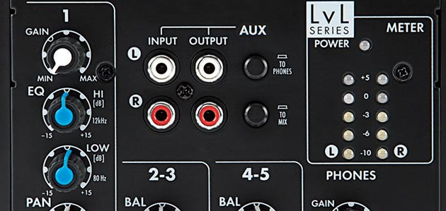 L502 5-Channel Compact Mixer