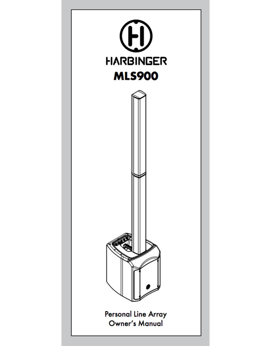 MLS900 Owner Manual