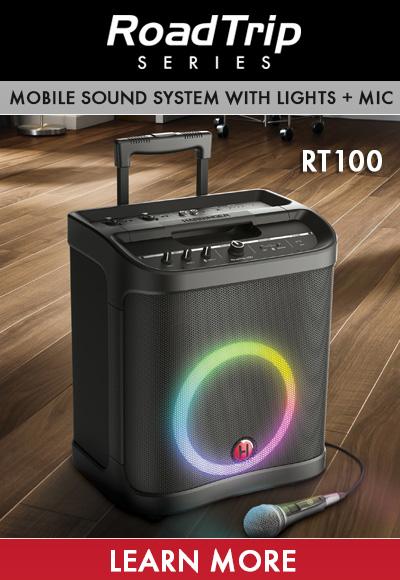 Harbinger RoadTrip 100 Mobile Sound System with Lights