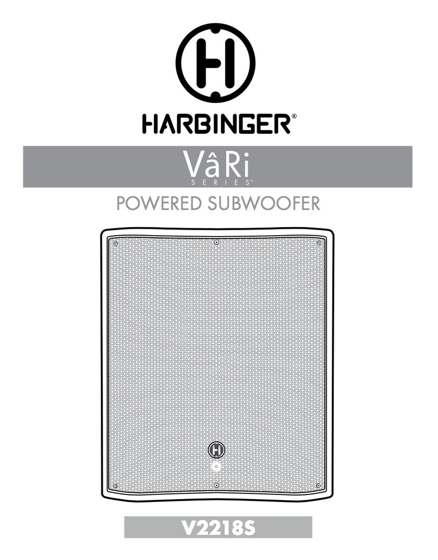 V2218S Owner Manual