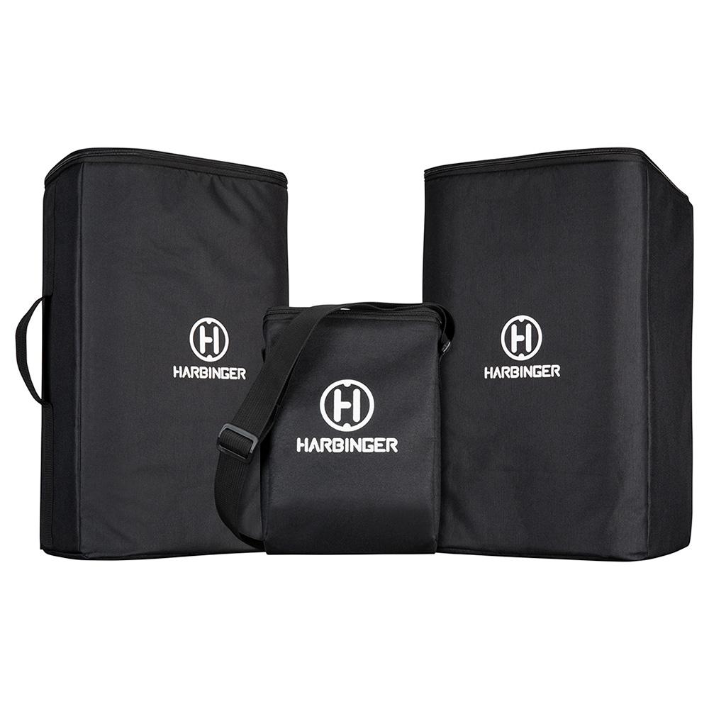 Harbinger M100-BT Portable PA Bags