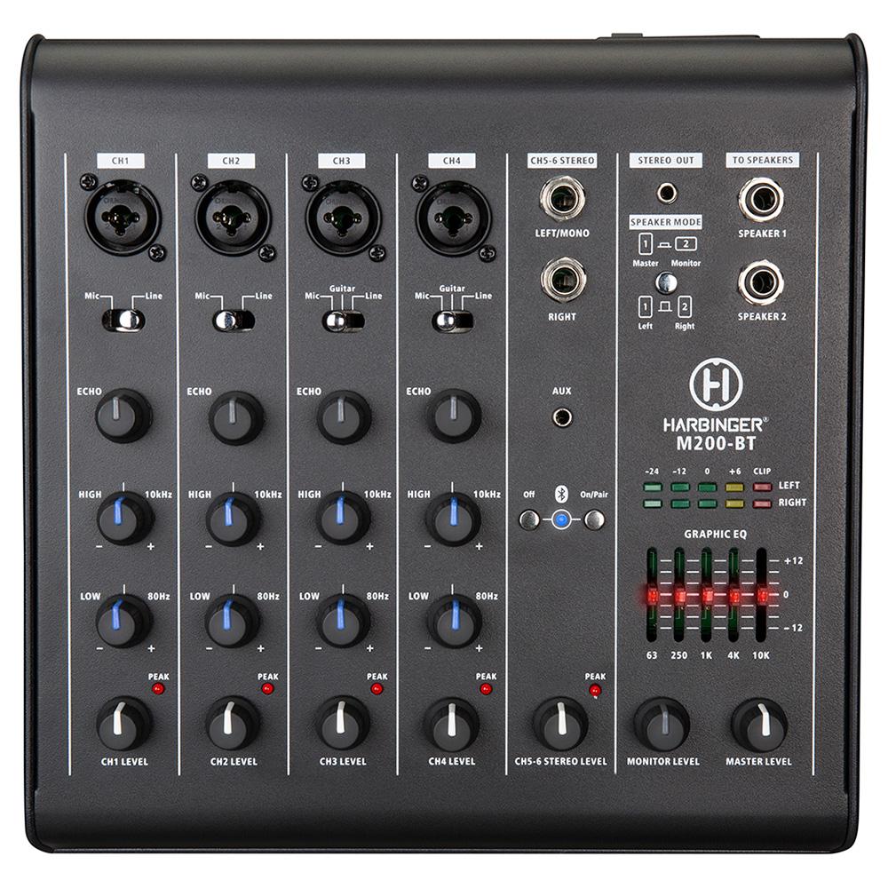 Harbinger M200-BT Portable PA System Mixer