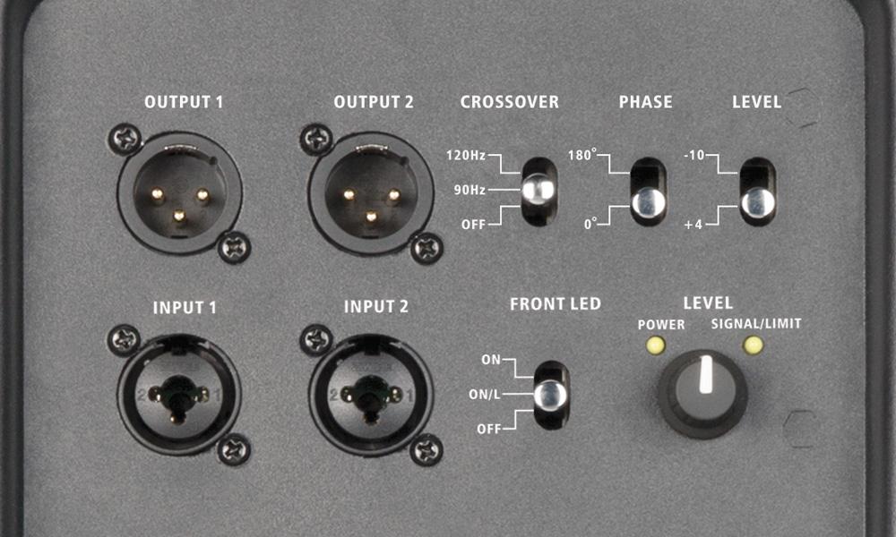 Harbinger V2318S Controls